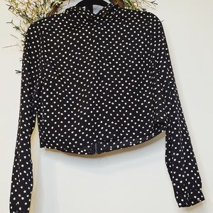 UO Coincidence & Chance crop long sleeve top